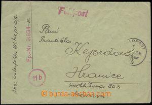 66745 - 1944 dopis do ČaM od příslušníka Vládního vojska (zř