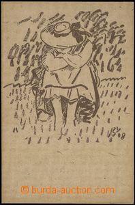 66846 - 1908 ŠPÁLA Václav (1885–1946): Kresby z prázdnin, kres