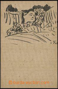 66847 - 1908 ŠPÁLA Wenceslas (1885–1946): Drawings from prázdni