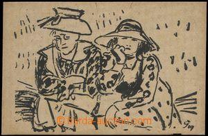 66849 - 1909 ŠPÁLA Václav (1885–1946): Kresby z prázdnin, kres