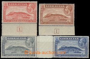 67127 - 1931 Mi.96-99, kompletní série, různá zoubkování, obsa