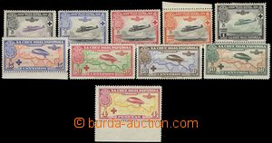 67129 - 1926 Mi.312-321, Airmail, complete set of, all stamp. with f