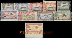 67129 - 1926 Mi.312-321, Letecké, kompletní řada, všechny zn. s