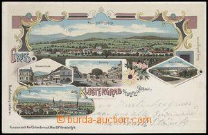 67151 - 1899 Hrob (Klostergrab) - litografická koláž; DA, prošl�