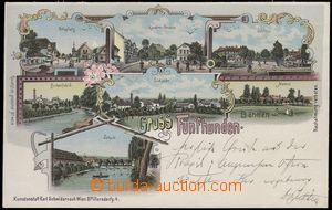 67162 - 1899 Pětipsy (Fünfhunden) - lithography, sugar-factory; lo
