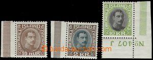 67229 - 1931-32 Mi.161, 166, 167, comp. 3 pcs of postage stmp., špi