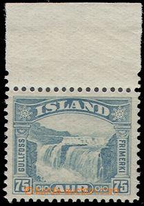 67230 - 1932 Mi.155, postage stmp, highest value with upper margin s