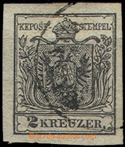67234 - 1850 Mi.2, issue I, very wide margins, c.v.. 80€