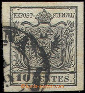 67235 - 1850 Mi.2, issue I, wide margins, c.v.. 80€