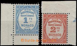 67253 - 1932 Mi.25-26 doplatní, obě koncové hodnoty, rohové kusy, sv