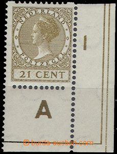 67254 - 1934 Mi.240D,  postage stmp, the bottom corner piece with pl