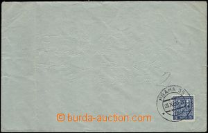67264 - 1933 BRAILLE MAIL, envelope with franking 5h (Coat of arms P