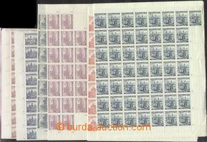 67296 - 1939 Pof.33-40 Krajinky I., neúplná řada PA (jen 6ks), Po
