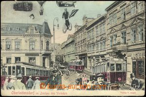 67308 - 1909 LITVÍNOV (Oberleutensdorf) - collage town in future; U
