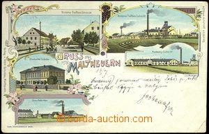 67311 - 1905 Záluží by/on/at Litvínov (Maltheuern) - lithography