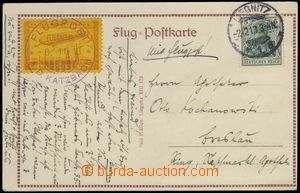 67581 - 1913 DEUTSCHLAND (GERMANY)  picture-postcard Airship after l