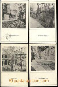 67594 - 1910 sestava 8ks fotografií K. Maška, vydal ARTĚL Praha,