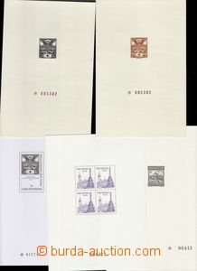 67629 - 1978-96 PT11a, 14a, 15a + Czech republic PT1, 3a, comp. 5 pc