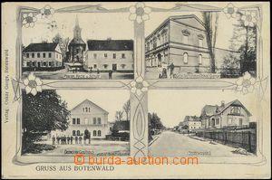 67649 - 1907 Butovice (Botenwald) - 4okénková, hospoda, škola; pr