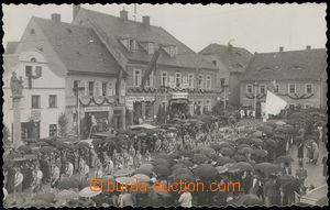 67652 - 1936 Hodkovice nad Mohelkou - ceremonial march young men; Un