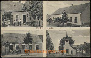 67655 - 1917 Javůrek - 4okénková, obchod, kaplička; prošlá, od