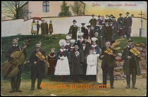 67657 - 1917 Jihlava (Iglau) - venkovská svatba; prošlá, odřené