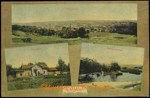 67660 - 1910 Královo Pole (Königsfeld) - 3okénková, nádraží,