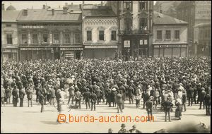 67668 - 1921 Moravská Ostrava  - manifestace social demokratických