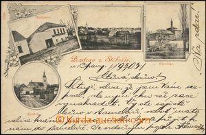 67671 - 1903 Stěbořice - 4okénková, pivovar, hostinec; DA, dobr�