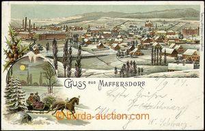 67677 - 1904 Vratislavice n./N. (Maffersdorf) - winter view, lithogr