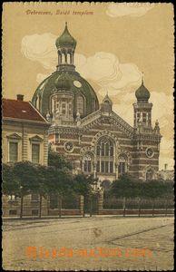 67685 - 1916 Debrecsén (Hungary), synagogue; Us, good condition