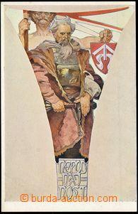 67696 - 1923 MUCHA Alfons (1860–1939), Fresky - Obecní dům (Weil