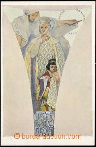 67697 - 1923 MUCHA Alfons (1860–1939): Fresky - Obecní dům (Weil