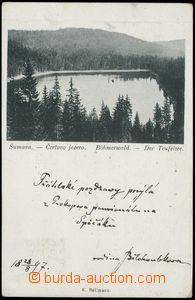 67706 - 1897 Šumava, Čertovo jezero; DA, prošlá, odřené růžk