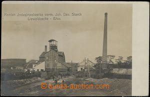 67735 - 1915 Břasy - factory; Us, stmp with perfin cat. Maxa M2 Mon