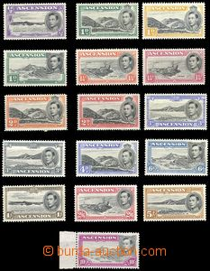 67778 - 1938-53 Mi.39-52 (SG.38-47a), Landscape and King George VI.,