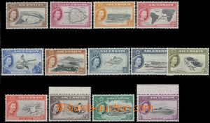67791 - 1956 complete set 13 pcs of stamp. Mi.62-74 (SG.57-69), very