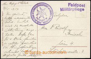 68327 - 1917 MALTESER RITTERORDEN GP von BÖHMEN u.ÖSTERREICH, SPIT