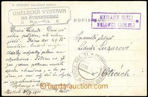68430 - 1910 pohlednice bez frankatury, raz. poštovny MIKOLAJICE (S