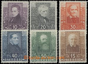 68509 - 1931 Mi.524-529 Poets, complete set., mint never hinged, c.v