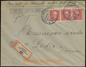 68510 - 1932 R dopis s razítkem poštovny DOLNÍ MĚSTO (Světlá n