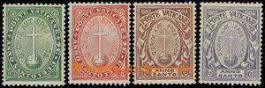 68514 - 1933 Mi.17-20, Svatý rok spasení, kompl. řada, kat. 80€