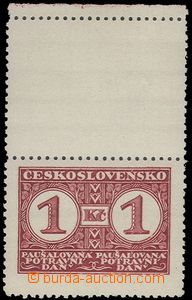 68539 - 1935 Pof.9B KH, stmp with upper coupon, mint never hinged, c