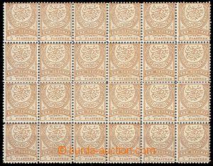68540 - 1884 Mi.49B, blk-of-24 stamps, nice quality, c.v.. 720€, e