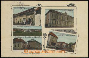 68555 - 1930 Slížany - 5okénková, obchod, škola, hostinec; pro�
