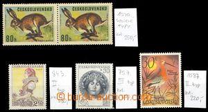 68572 - 1953-67 Pof.757/III., Pof.843/II., Pof.1570ST, Pof.1587/II.,