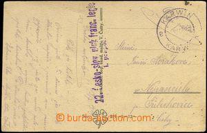 68616 - 1919 22. Česko-slovenský pluk francouzské legie/ 1. prapo