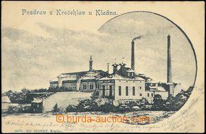 68673 - 1900 Kročehlavy - pivovar; DA, prošlá, lehké skvrny