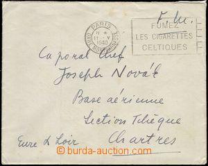 68701 - 1940 dopis adresovaný pilotovi Josefu Novákovi (padl 2.6.1