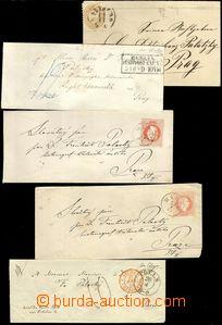 68735 - 1850-76 comp. 10 pcs of letters sent to Francis Palacký, pr